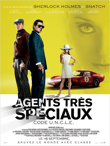 agents tres speciaux code uncle affiche