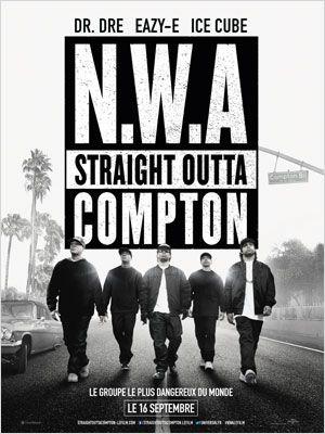 NWA - STRAIGHT OUTTA COMPTON AFFICHE