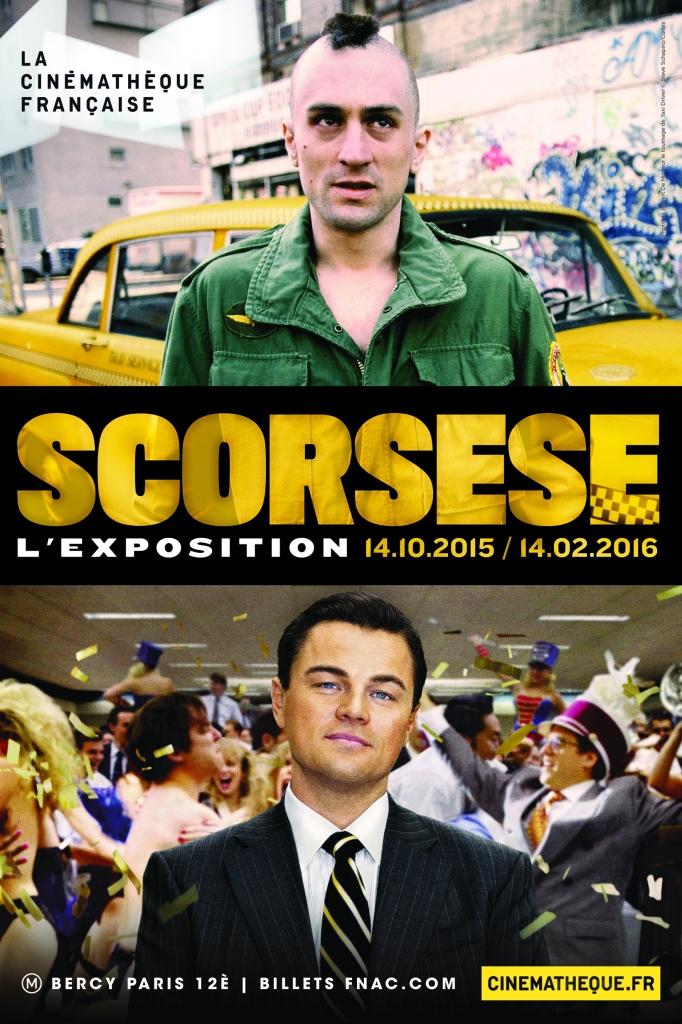affiche expo scorsese
