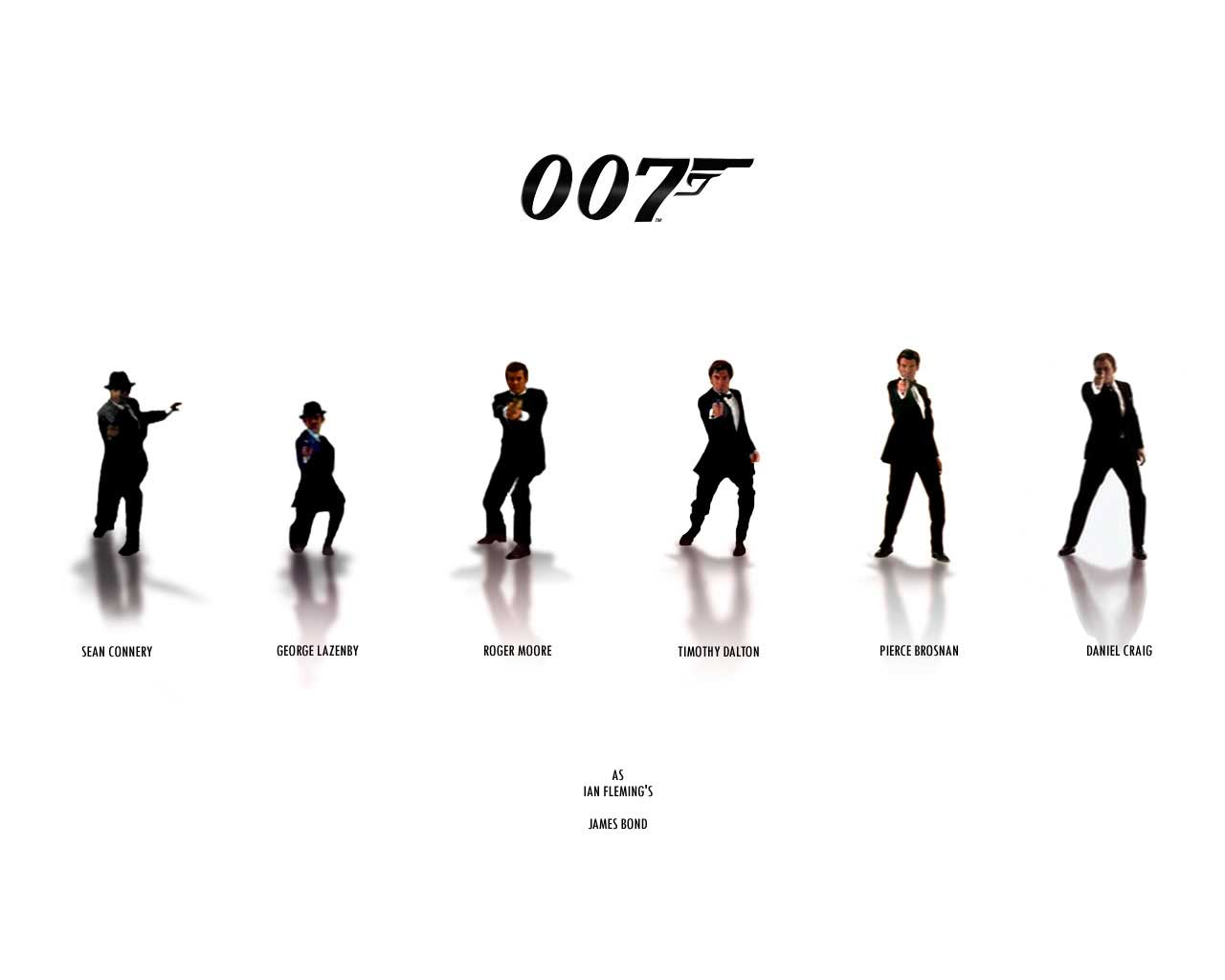all james bond