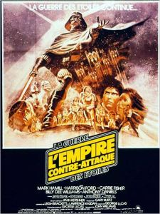 l'empire contre attaque affiche