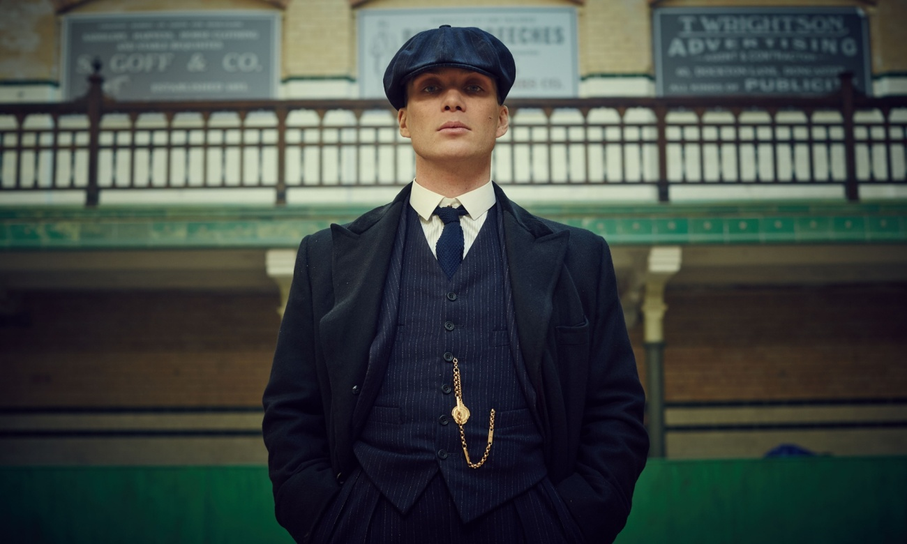 Programme Name: Peaky Blinders - TX: n/a - Episode: Episode 3 (No. 3) - Picture Shows: Thomas Shelby (Cillian Murphy) - (C) Mandabach TV - Photographer: Robert Viglasky