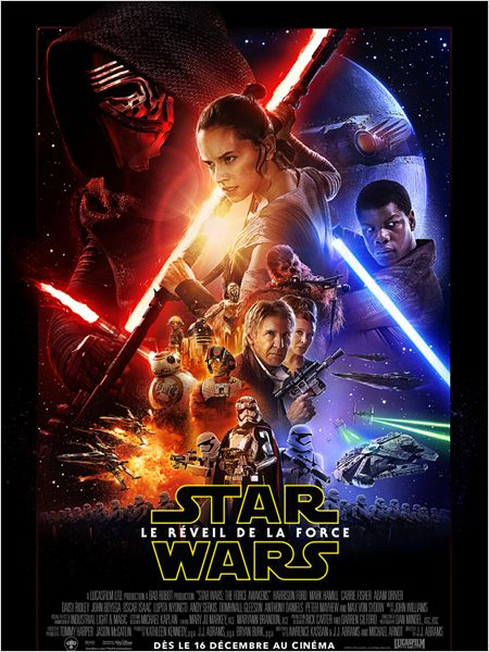 STAR WARS LE REVEIL DE LA FORCE AFFICHE