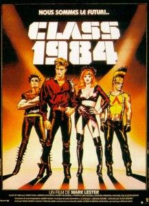 class 1984 affiche