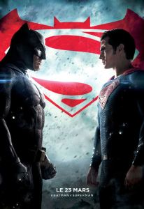 batman v superman affiche