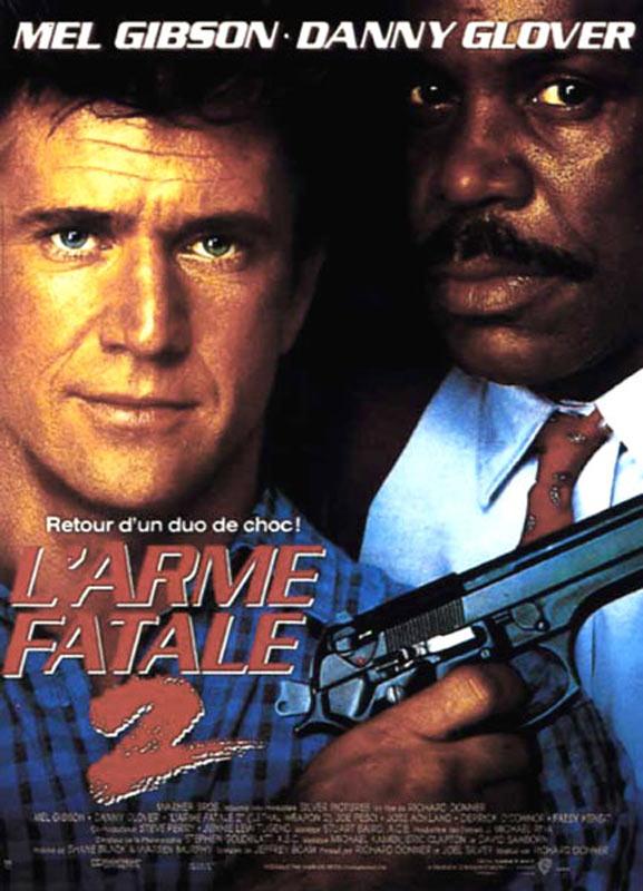 l'arme fatale 2 affiche