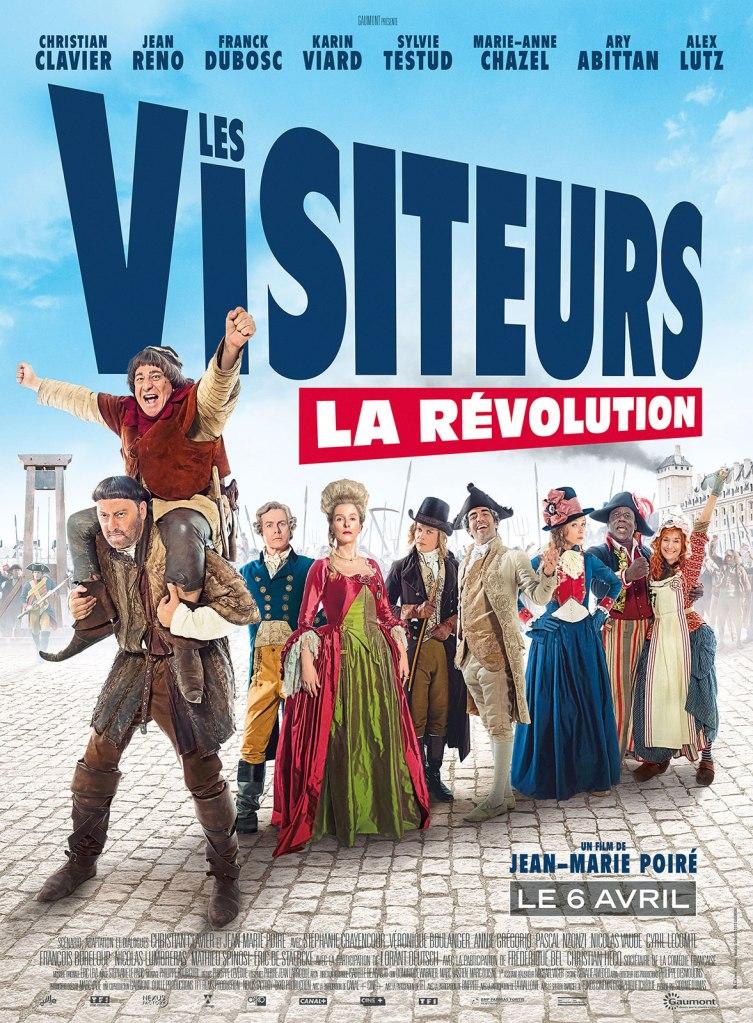 les visiteurs la révolution affiche