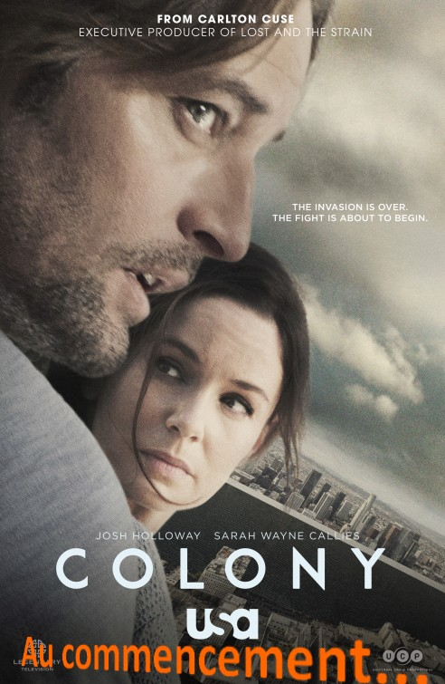 colony AU COMMENCEMENT