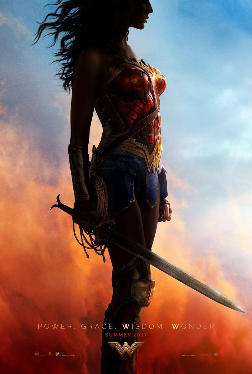 Comic Con Wonder Woman poster cliff and co