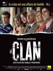el clan affiche cliff and co