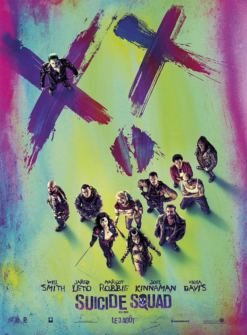SUICIDE SQUAD AFFICHE CLIFF AND CO