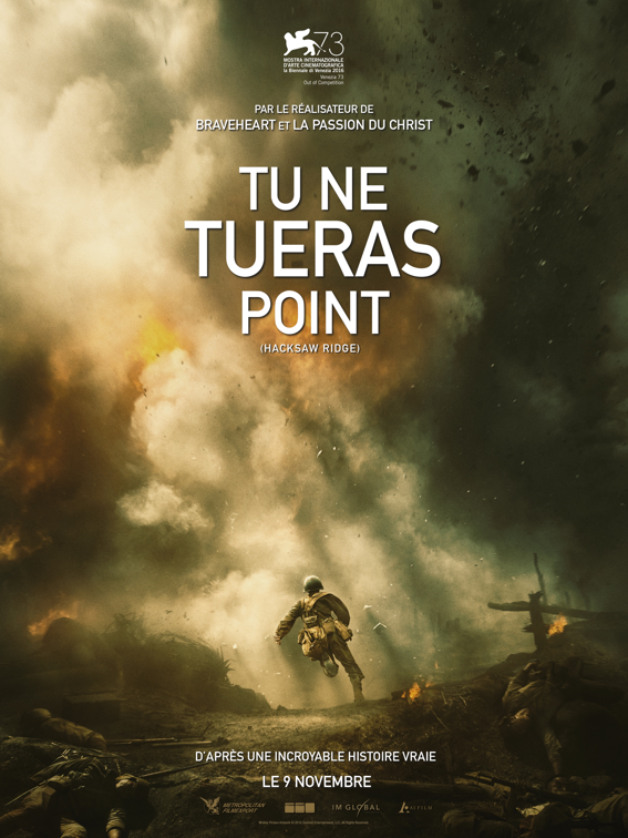 tu ne tueras point affiche 1 cliff and co