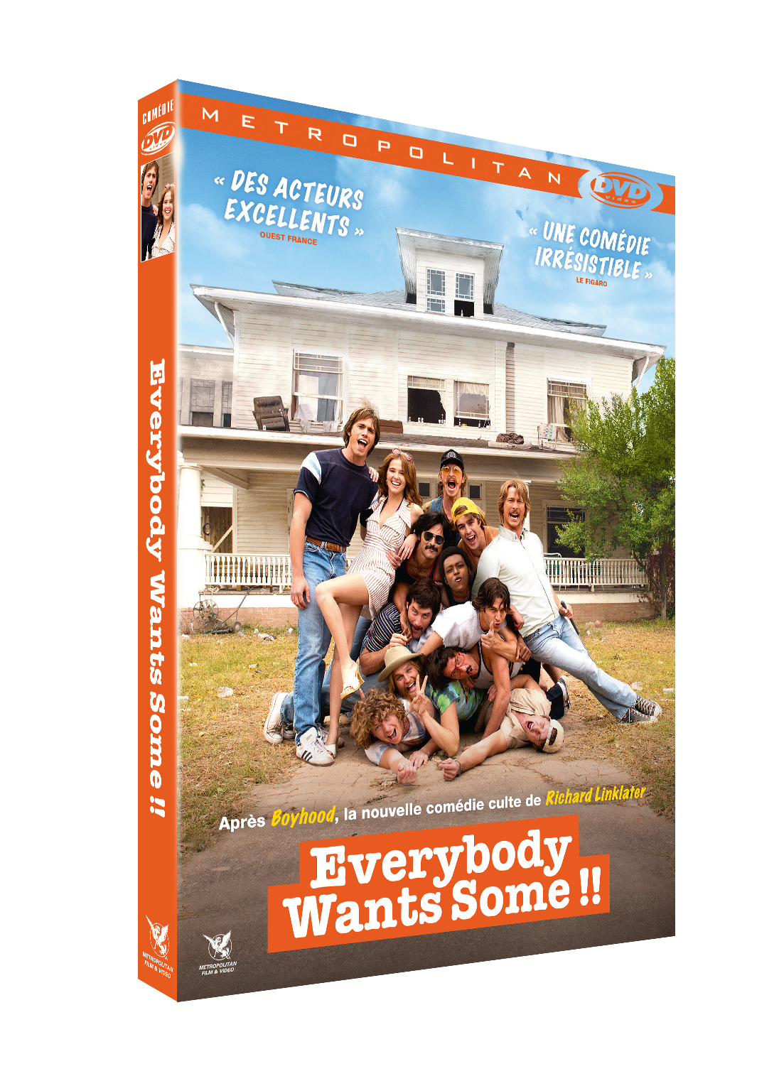 3D FOUR DVDV EVERYBODY WANTS SOME