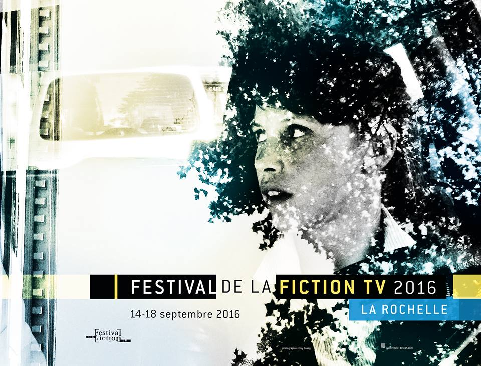 festival de la fiction tv la rochelle affiche cliff and co