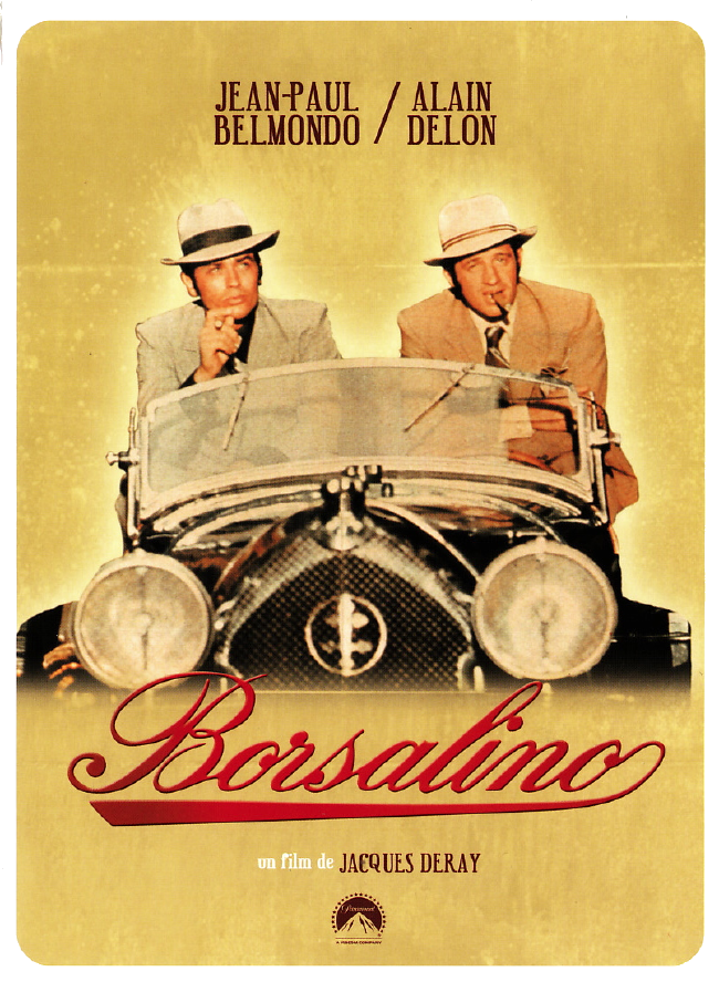 borsalino affiche cliff and co