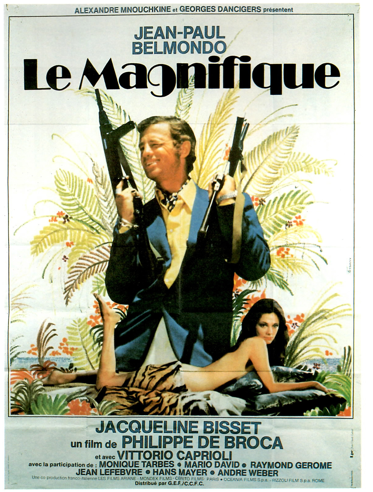 LE MAGNIFIQUE AFFICHE CLIFF AND CO