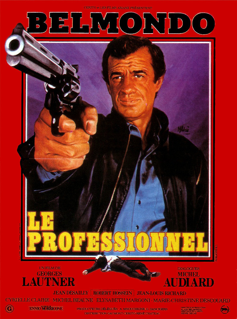 LE PROFESSIONNEL AFFICHE CLIFF AND CO
