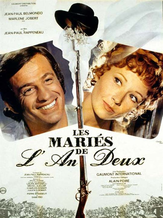 les mariés de l'an II affiche cliff and co
