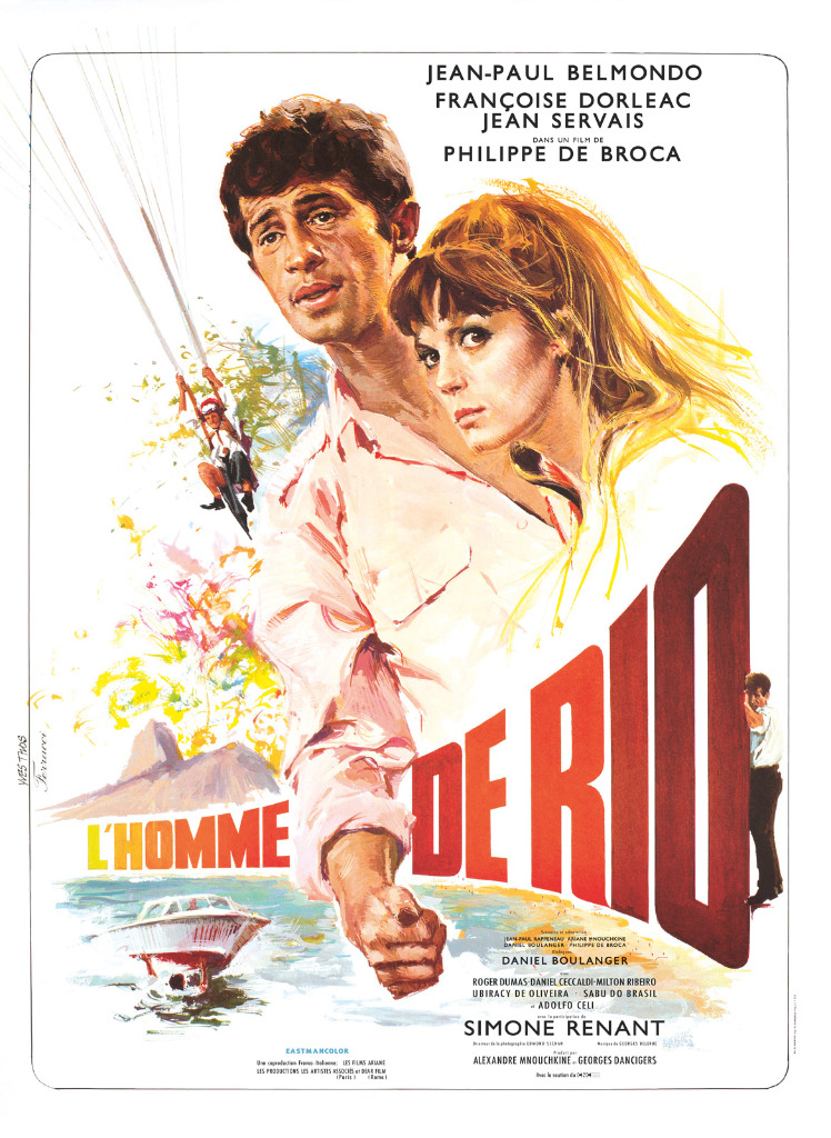 l'homme de rio affiche cliff and co