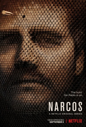 narcos saison 2 affiche cliff and co