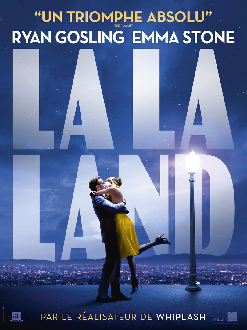 la la land affiche cliff and co