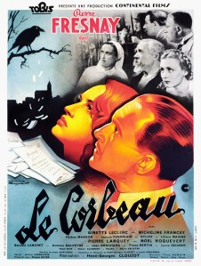 le corbeau affiche cliff and co