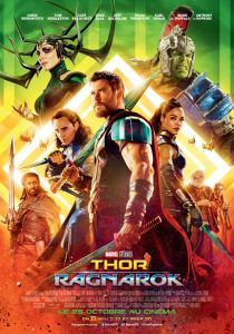 thor ragnarok affiche cliff and co