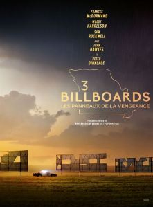 3 billboards affiche cliff and co
