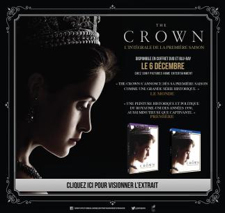 Alors que la saison 2 arrivee sur Netflix, la saison 1 de The Crown est disponible en vidéo: La critique ici : https://leschroniquesdecliffhanger.com/2016/11/08/the-crown-critique-saison-1-game-of-trone/ Sony Pictures Home Entertainment