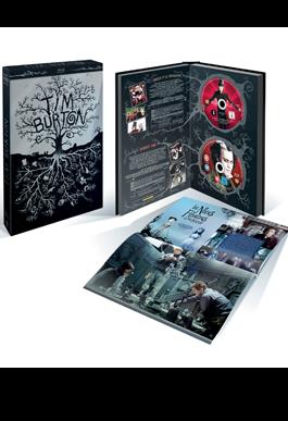 Un magnifique coffret réunissant les oeuvres de l'iconoclaste Tim Burton. Autant un bel objet qu'un must have. Warner (19 DVD / 19 BD) - DARK SHADOWS - MISS PEREGRINE ET LES ENFANTS EXTRAORDINAIRES - SWEENEY TODD - LES NOCES FUNEBRES -CHARLIE ET LA CHOCOLATERIE - L'ETRANGE NOEL DE MR.JACK - MARS ATTACKS! - BATMAN - BATMAN LE DEFI - BEETLEJUICE - PEE WEE'S BIG ADVENTURE - ED WOOD - EDWARD AUX MAINS D'ARGENT - SLEEPY HOLLOW - LA PLANETE DES SINGES - BIG FISH - ALICE AU PAYS DES MERVEILLES - FRANKENWEENIE - BIG EYES + UN LIVRET Prix de vente conseillé : DVD : 139,99 € BD : 179,99 €