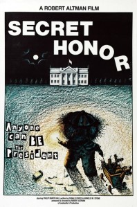 secret honor poster cliff and co
