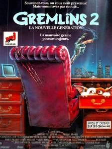 gremlins 2 affiche cliff and co