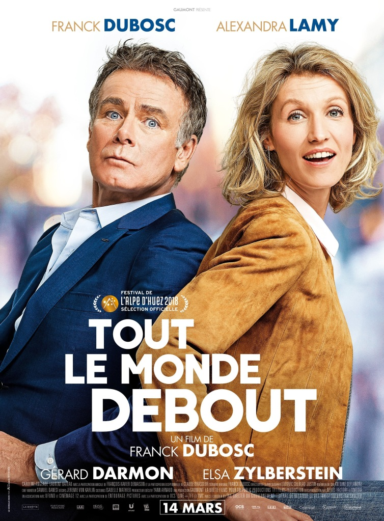 tout le monde debout affiche cliff and co