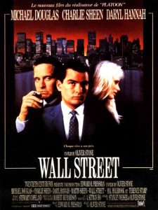 wall street affiche cliff and co