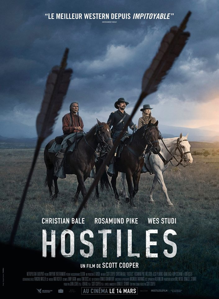 hostiles affiche cliff and co