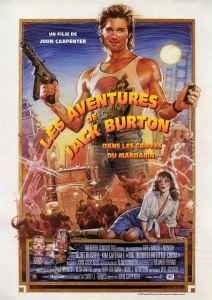 jack burton affiche cliff and co