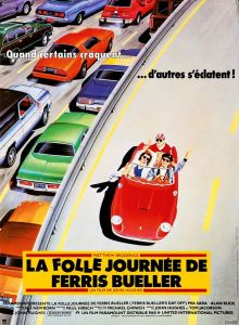 la folle journée de ferris bueller affiche cliff and co