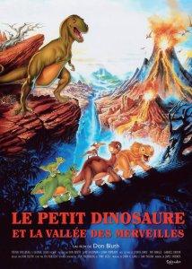le petit dinosaure et la vallée des merveilles affiche cliff and co