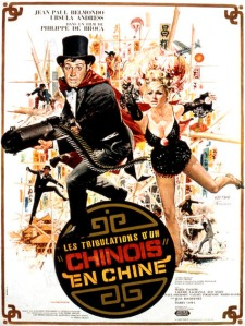 les tribulations d'un chinois en chine affiche cliff and co