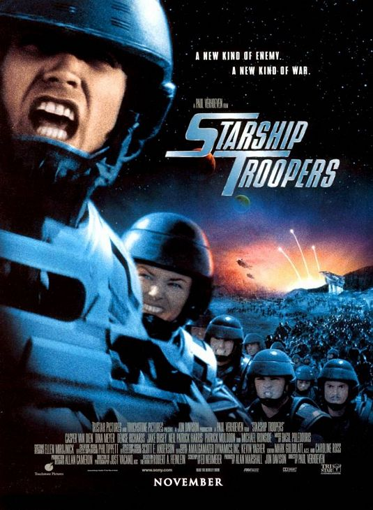 starship troopers affiche cliff and co