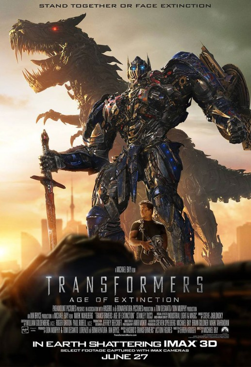 transformers l'âge de l'extinction affiche cliff and co