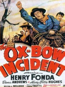 the ox bow incident poster cliff and co