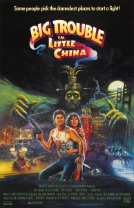 big trouble little china affiche cliff and co