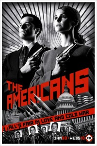the americans affiche cliff and co