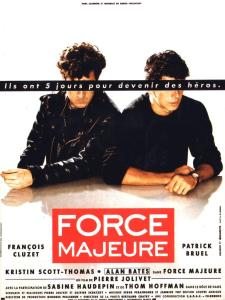 force majeure affiche cliff and co