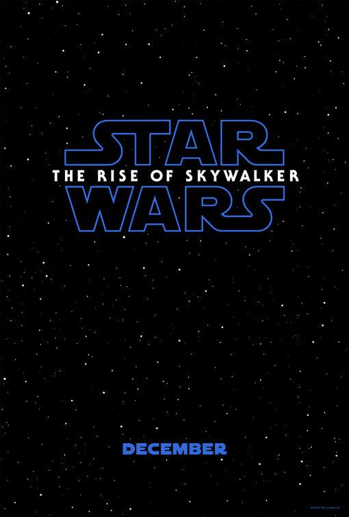 star wars the rise of skywalker poster teaser