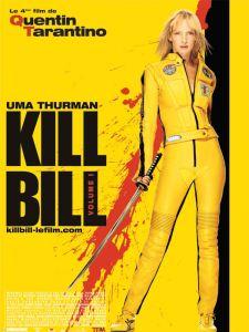 KILL BILL VOLUME 1 AFFICHE CLIFF AND CO