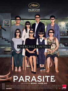 parasite affiche cliff and co