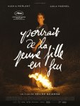 PORTRAIT DE LA JEUNE FILLE EN FEU AFFICHE CLIFF AND CO