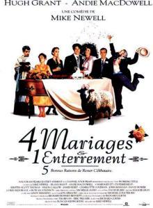 quatre mariages et un enterrement affiche cliff and co